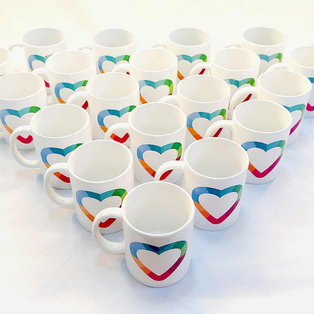 Чашки с нанесением рисунка